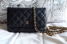 Chanel WoC Black Caviar Leather with GHW.....GIVE MEEEEEEE!!!!!!