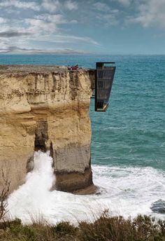 Modscape's Cliff Suspended House!  http://www.arch2o.com/modscapes-cliff-suspended-house/
