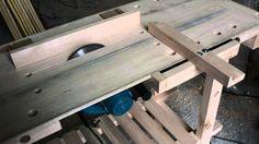 Banco de carpintero con sierra y carro escuadradora video 12 de manual d...