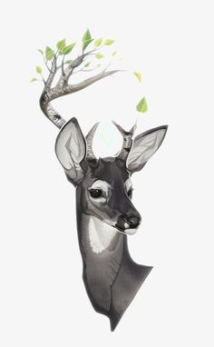 alternate version of an earlier commissioned piece Justine Lee Hirten Illustration Animal Drawings, Art Drawings, Drawing Animals, Creature Design, Creature Feature, Animal Design, Furry Art, Spirit Animal, Cute Art