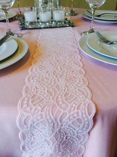 6ft Wedding Blush Pink Table Runner, 6ft, 5in X 78in Long, Weddings Decor