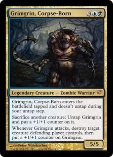 card zombi, magic the gathering, mtg card, game creat, corpseborn innistrad, grimgrin, gather mtg, card games, collect card