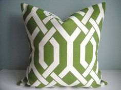 CLEARANCE 20x20 Designer Pillow In Slick Palm,Decorative Pillow Cover on Etsy, $22.00