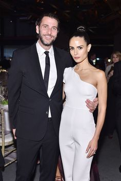 C Social Front. Baby2Baby Gala 2015 -- Andrew Form & Jordana Brewster