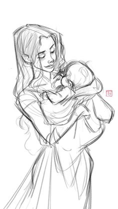 Let's just say this is Feyre and her son XD