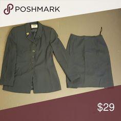 Selling this Suit jacket and skirt on Poshmark! My username is: beboss01. #shopmycloset #poshmark #fashion #shopping #style #forsale #Kasper #Dresses & Skirts