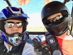 Brian and I heading back out in his #RZR1000 #glamis #dunes