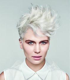 Paul Mitchell Short White Hairstyles