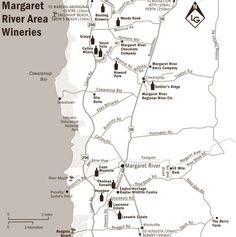 Vineyards in Margaret River, Western Australia