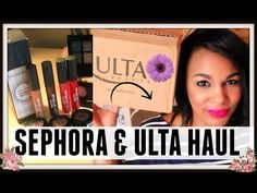HUGE SEPHORA & ULTA HAUL:SUMMER 2015 - #YouTube #fashion#huge