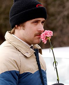 I know everyone else fell in love with Ryan in The Notebook...but I love Lars and the Real Girl.