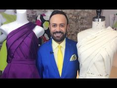 1. How to drape a basic pattern, ladies' front - by bespoke tailor Sten Martin - YouTube