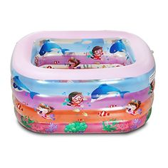 King family filled a square poolThick insulation baby swimming poolInfant boys swimmingpoolPool *** Click image to review more details.Note:It is affiliate link to Amazon.
