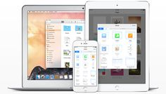 iCloud Drive allows OS X Yosemite users to store any type of file in the cloud up to 15 gb - google drive allows you to store as much as you want with your google account.