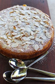 flourless orange and almond cake - one of my all time favourite cakes