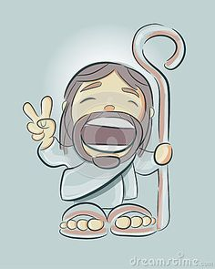 Jesus Cartoon F - Download From Over 46 Million High Quality Stock Photos…
