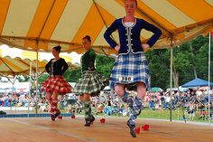 Grandfather Mountain Highland Games - Highland Dancing (Baird, McNab, McNeil, Campbell & Wilson are my Scottish ancestry)