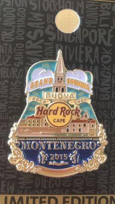 Hard Rock Cafe /Rock Shop Budva, Montenegro, Grand Opening,  LE, like Icon    eBay