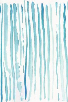 iPhone Backgrounds #blue #stripes #watercolor