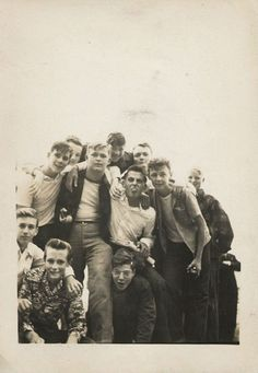 1950s Teenage Boys
