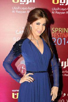 Nancy Ajram in a Georges Hobeika Dress