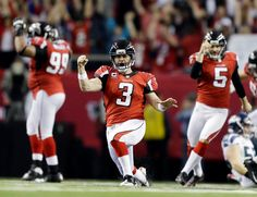 The Falcons are headed to NFC Championship game!! Love Matty Ice Bryant!!
