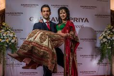 #WeddingSutraP2W A cream, red and green self-designed lehenga with matching embroidery to the emerald green blouse for Priya of WeddingSutra.