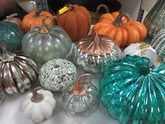 """HomeGoods on Twitter: """"Color. Glass. Metal. Fabric. Pumpkin overload and we love…"""