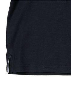 【シンプルポロシャツ】胸ポケットにイカリ刺しゅうをあしらったポロシャツです。 マリン…