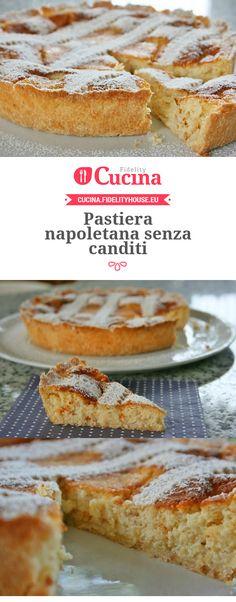#Pastiera napoletana senza canditi della nostra utente Sanny. Unisciti alla nostra Community ed invia le tue ricette!