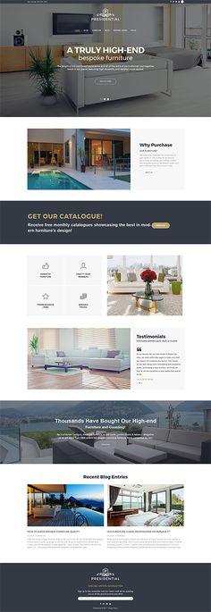 Template 62488 - Home Decor & Furniture WordPress Theme