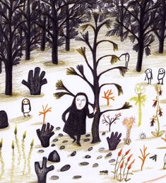 Ecosia - the search engine that plants trees Kitty Crowther, Love Illustration, Illustrations And Posters, Cartoon Kids, Sculptures, Character Design, Drawings, Painting, Plantar