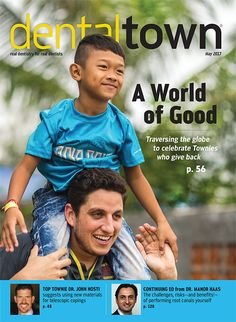 """Meet dozens of your peers and learn what drives them give back in this """"Do Good"""" issue of Dentaltown!"""