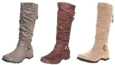 Knee-high boots. Perfect for everyday with a pair of leggings.