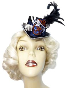 Ravenclaw Mini Top Hat Harry Potter Inspired Victorian Steampunk Fascinator Cocktail 2