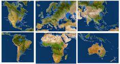 Se todo o gelo derretesse, o mundo seria algo parecido com isso