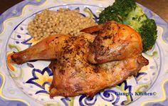 Roasted Cornish Hen recipe - Foodista.com