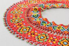 """Ukrainian ethnic necklace with baeds called """"Silyanka"""" #silyanka #beads…"""