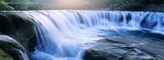 Waterfall timeline cover, Nature timeline cover banner