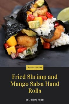 Ingredients  1 mango, cubed ½ cup red onion (75 g) 1 bell pepper, cubed 1 avocado, cubed 2 tablespoons lime juice 1 tablespoon olive oil pepper, to taste salt, to taste ¼ cup cilantro (10 g) 4 cups rice (905 g), cooked