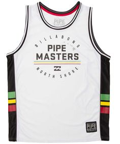 Final jersey tank top, by #Billabong (http://us.billabong.com/shop/product/mens-tanks/finals-jersey-tank?color=WHT)