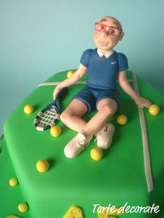 Le torte decorate di Beatrice: Tennis cake