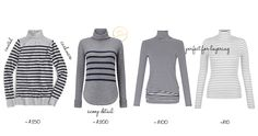 The Cole Collection ~Style Edit ~ The Striped Turtleneck Striped Turtleneck, Cravings, Turtle Neck, Collection, Tops, Women, Style, Fashion, Swag