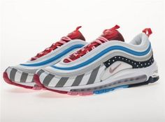 the latest e2d1c 1d047 Parra x Nike Air Max 97 Shoes 43JL