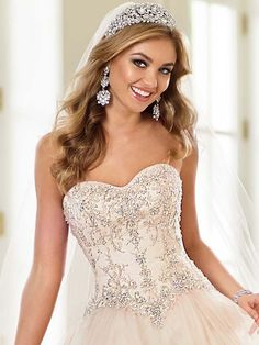 Beautiful dress! Stella York Spring 2015 Wedding Dress Collection