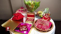 A Highlights Version Of An Indian Chunni Engagement Ceremony
