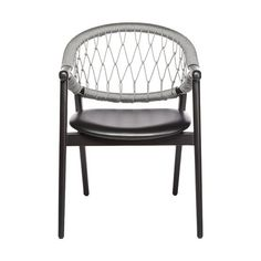 The Umami armchair with Trieste rope back features a backrest made from two curving bentwood beech pieces that combine with four legs to create a sleek and slender frame. The upholstered seat is comfortable, the rope back intriguing. The rope is woven by hand, adding an artisanal element into the mix and when paired with the light frame, makes for a truly striking rope chair. Contemporary Dining Chairs, Fabric Suppliers, Trieste, Four Legged, Armchair, Artisan, Legs, Frame, Furniture