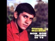 Gianni Morandi - Non son degno di te (1964) - YouTube