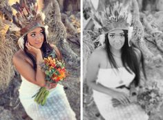 California Desert Wedding Inspiration » Lukas & Suzy International Wedding Photographers,  Love this Native American beauty! #IDOTEMPTU