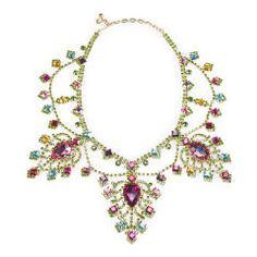 Swarovski Pear Drop Necklace - Ralph Lauren Necklaces - RalphLauren.com